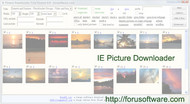 ie picture downloader screenshot